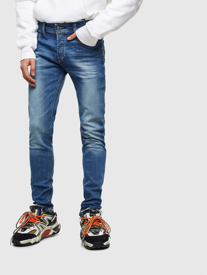 Diesel - Sleenker CN053, Bleu moyen - Jeans - Image 1