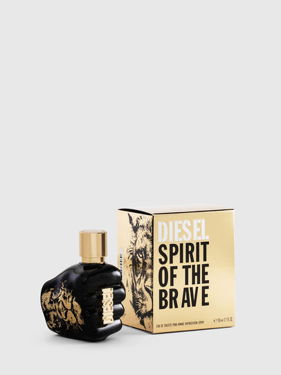 Diesel - SPIRIT OF THE BRAVE 50ML, Noir/Doré - Only The Brave - Image 1