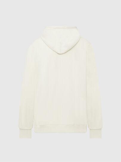 Diesel - S-GIRK-HOOD-MOHI, Blanc - Pull Cotton - Image 2