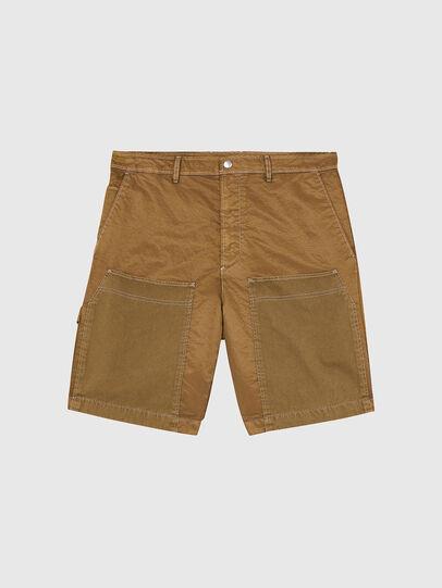 Diesel - P-TRENT-SHORT, Marron Clair - Shorts - Image 1