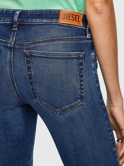 Diesel - Slandy Low 009ZX, Bleu Foncé - Jeans - Image 4
