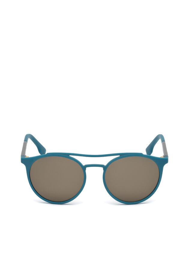 Diesel - DM0195, Bleu - Lunettes de soleil - Image 1