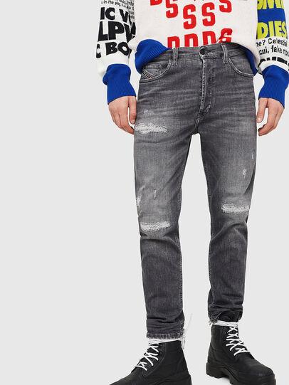 Diesel - D-Eetar 0890F, Gris Clair - Jeans - Image 1