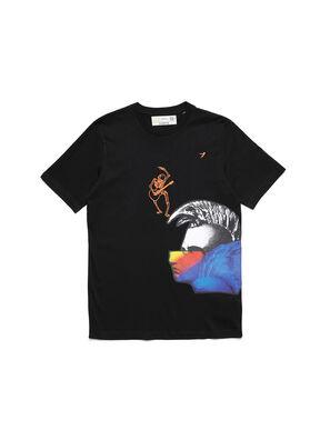D-5055-B, Noir - T-Shirts