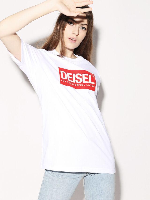 Diesel - DEIS-JUST, Blanc - T-Shirts - Image 3