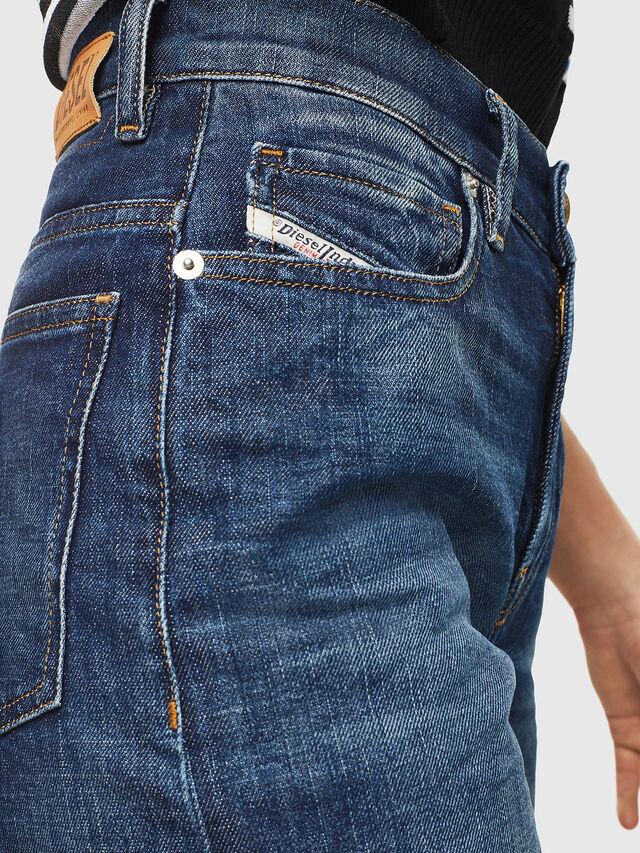 Diesel - Widee 0090W, Bleu Foncé - Jeans - Image 3