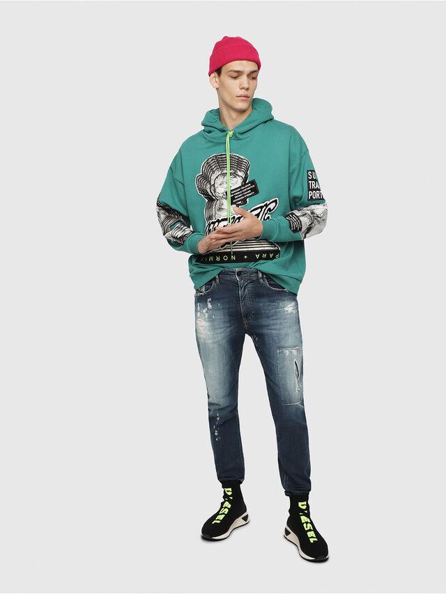 Diesel - Narrot JoggJeans 087AK, Bleu Foncé - Jeans - Image 4