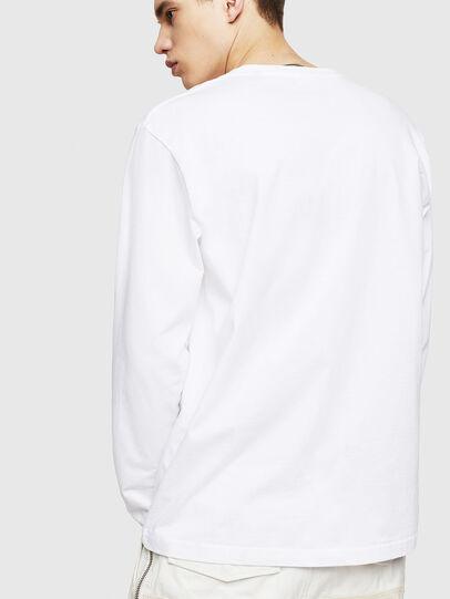 Diesel - T-JUST-LS-COPY, Blanc - T-Shirts - Image 2