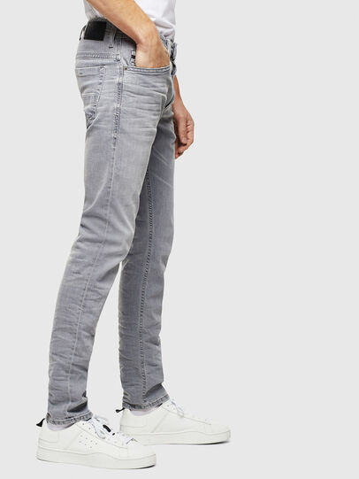 Diesel - Thommer 0890E, Gris Clair - Jeans - Image 4