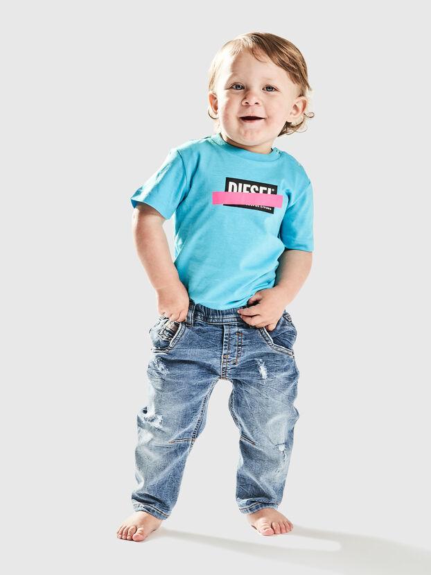 TJUSTDIXB, Azur - T-shirts et Hauts