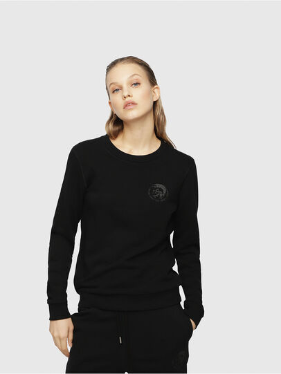 Diesel - UFLT-WILLA, Noir - Pull Cotton - Image 1