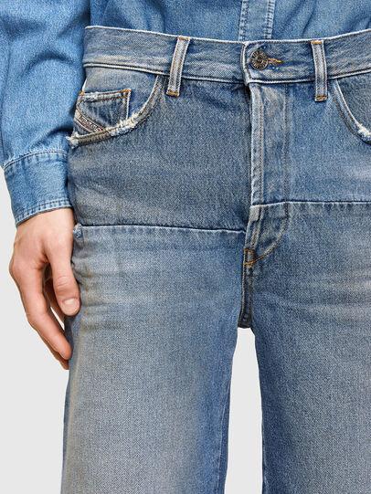 Diesel - D-MACS-SHORT-T-SP, Bleu Clair - Shorts - Image 4