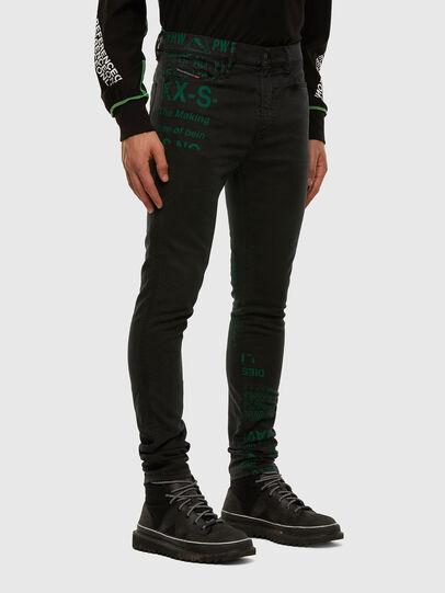 Diesel - D-Reeft JoggJeans 009HD, Noir/Gris foncé - Jeans - Image 6