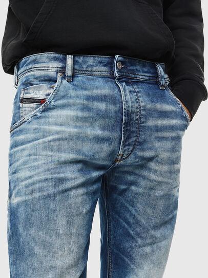 Diesel - Krooley JoggJeans 087AC, Bleu moyen - Jeans - Image 3