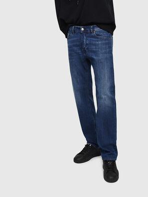 Waykee 082AZ, Bleu Foncé - Jeans