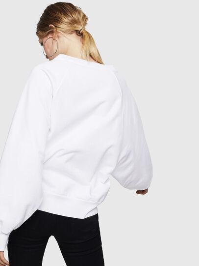 Diesel - F-HENNY-E, Blanc - Pull Cotton - Image 2