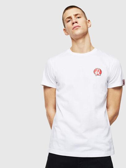 Diesel - LR-T-DIEGO-VIC, Blanc - T-Shirts - Image 1