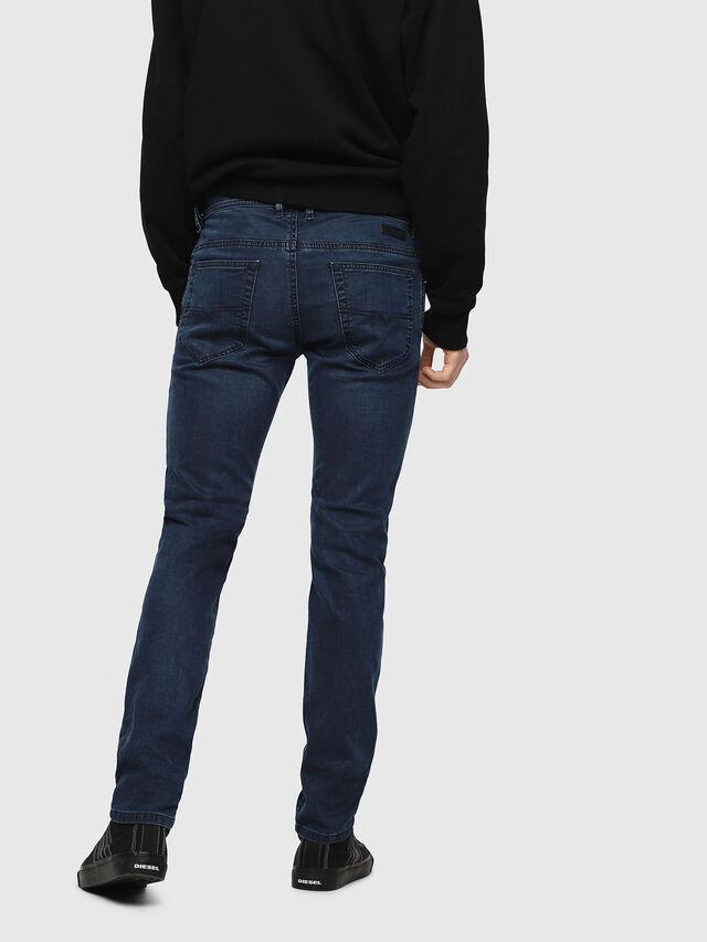 Diesel - Thommer JoggJeans 0688J, Bleu moyen - Jeans - Image 2
