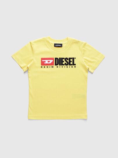 Diesel - TJUSTDIVISIONB-R, Jaune - T-shirts et Hauts - Image 1