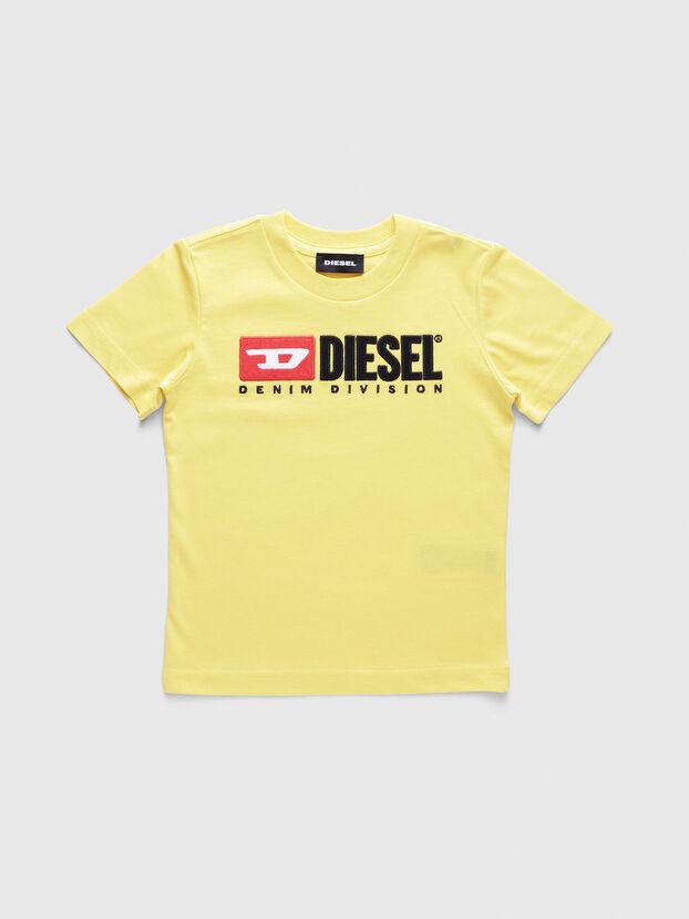 TJUSTDIVISIONB-R, Jaune - T-shirts et Hauts