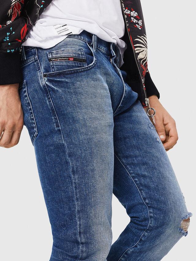 Diesel - D-Strukt 081AQ, Bleu moyen - Jeans - Image 3