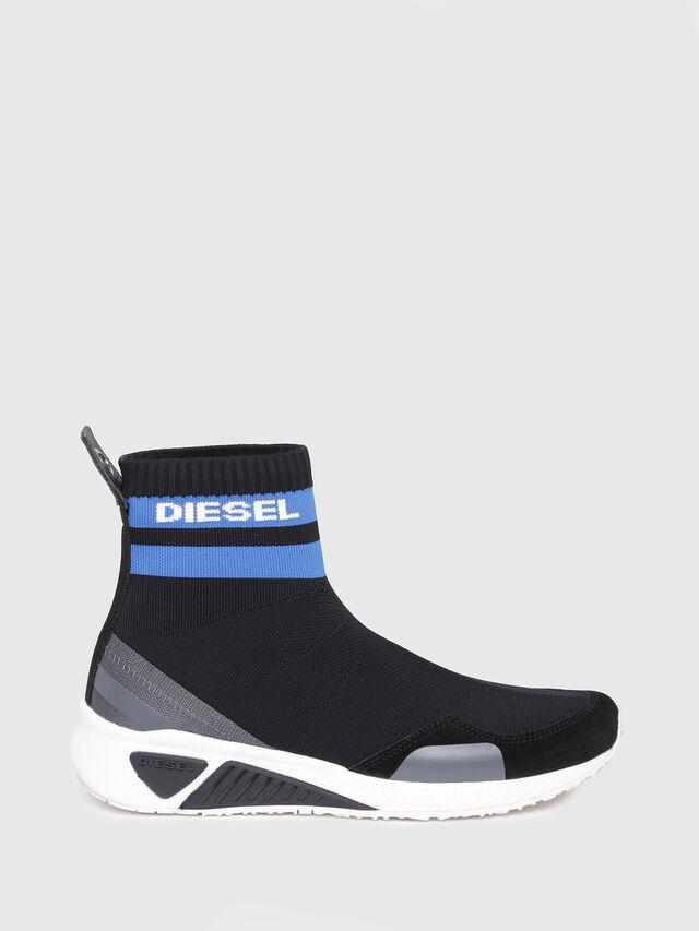 Diesel - S-KB SOCK W, Noir/Bleu - Baskets - Image 1