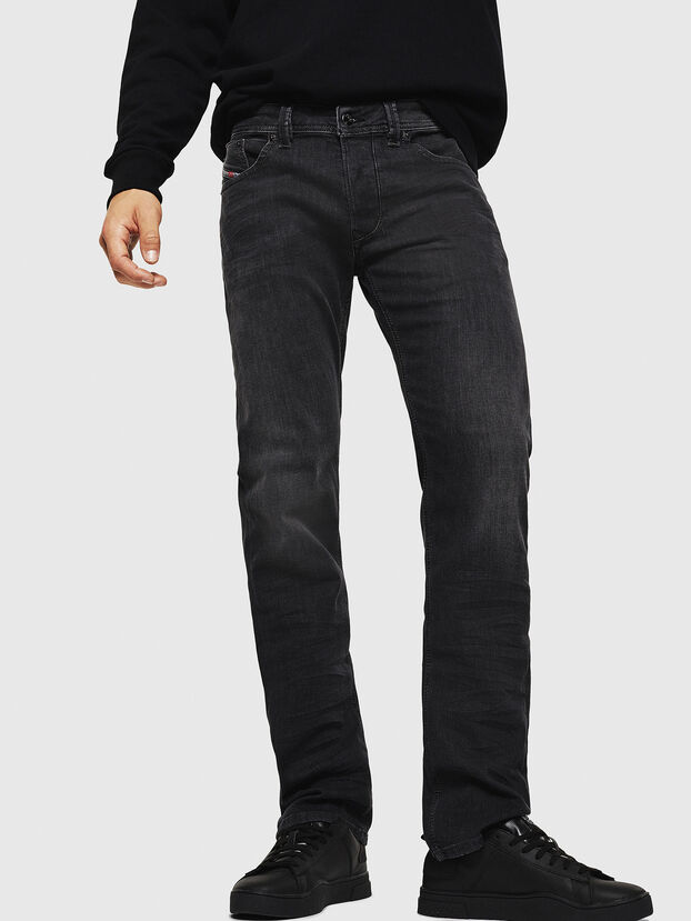 Larkee 0687J, Noir/Gris foncé - Jeans