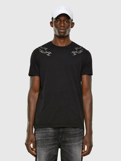 Diesel - T-DIEBIND, Noir - T-Shirts - Image 5