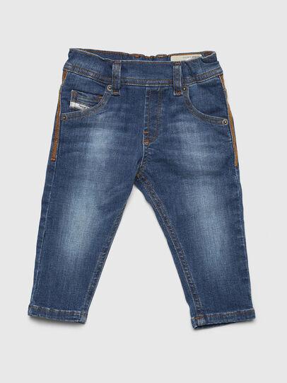 Diesel - KROOLEY-NE-B-N, Bleu Clair - Jeans - Image 1