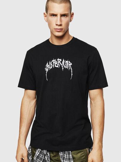 Diesel - T-JUST-BX7, Noir - T-Shirts - Image 1