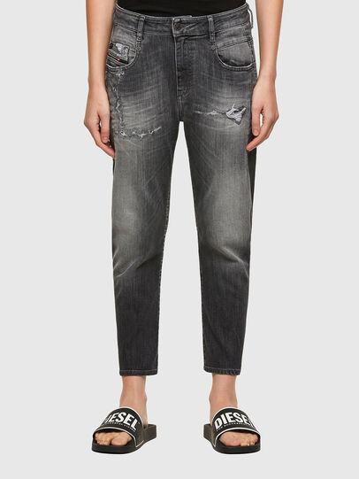 Diesel - Fayza JoggJeans® 009QT, Noir/Gris foncé - Jeans - Image 1