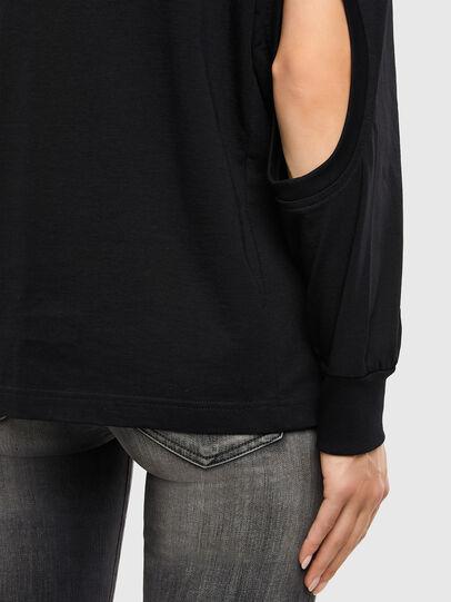 Diesel - T-SBU, Noir - T-Shirts - Image 4