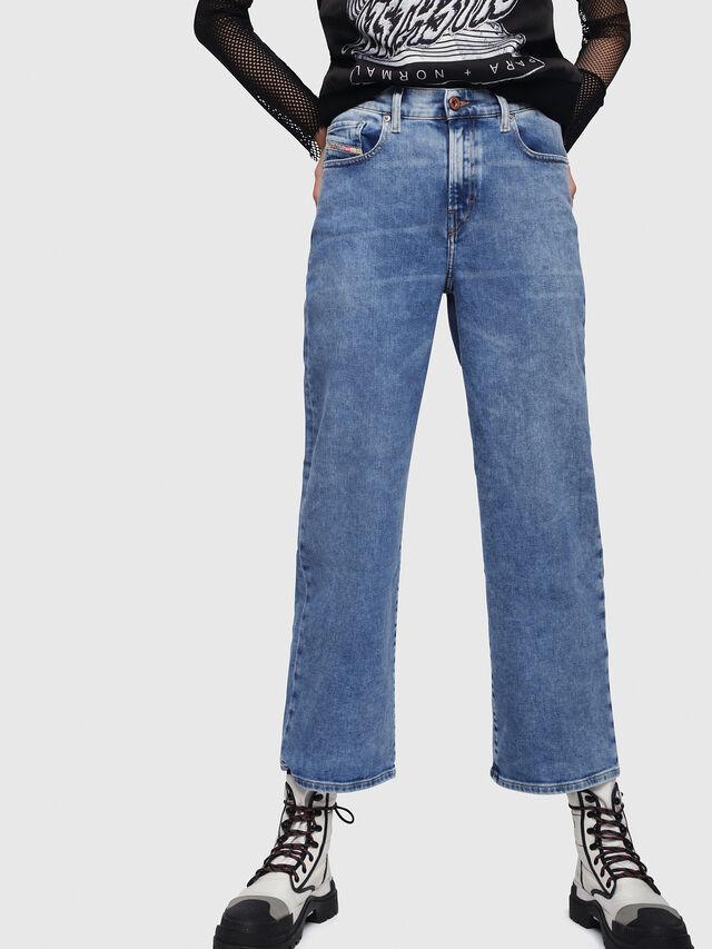Diesel - Widee 087AR, Bleu Clair - Jeans - Image 1