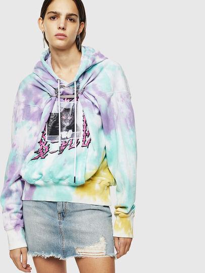 Diesel - F-ALBYHOOK-B, Multicolore - Pull Cotton - Image 1