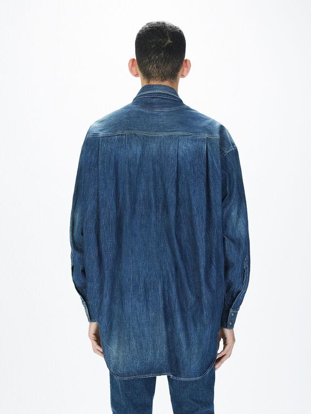 Diesel - SOTS01, Jean Bleu - Chemises - Image 5