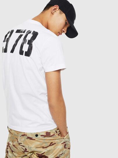 Diesel - T-DIEGO-S2, Blanc - T-Shirts - Image 2