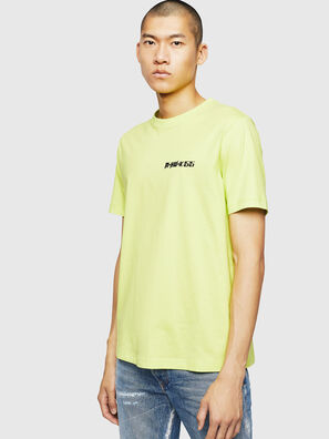 T-JUST-B31, Jaune Fluo - T-Shirts