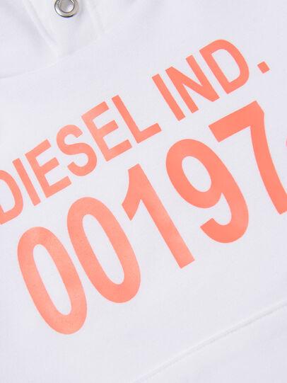 Diesel - SGIRKHOOD OVER, Blanc - Pull Cotton - Image 3