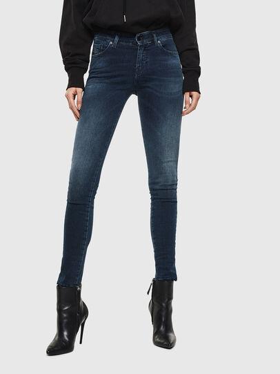 Diesel - Slandy 084UT, Bleu Foncé - Jeans - Image 1