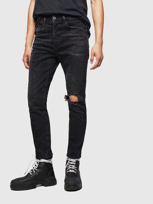 D-Eetar 069DV, Noir/Gris foncé - Jeans