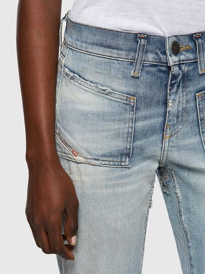 Diesel - D-Ebbey 09A04, Bleu Clair - Jeans - Image 4