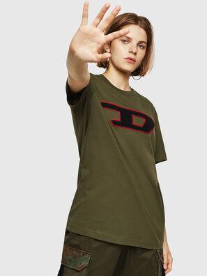 T-JUST-DIVISION-D-FL, Vert Militaire - T-Shirts
