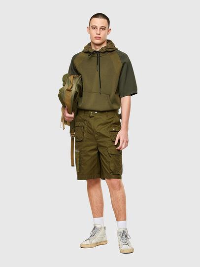 Diesel - P-CYAN-SHORT, Vert Militaire - Shorts - Image 5