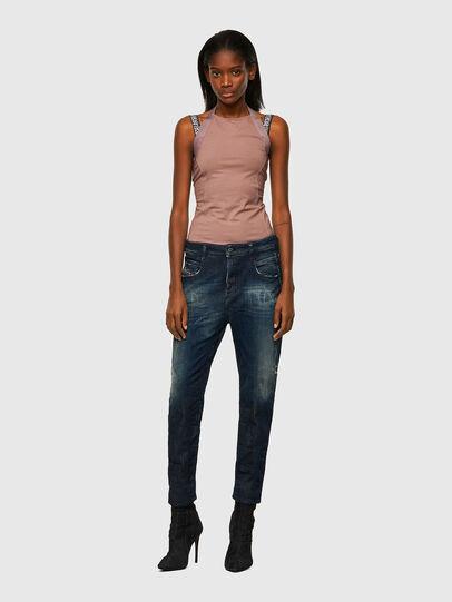 Diesel - Fayza JoggJeans® 09B50, Bleu Foncé - Jeans - Image 5