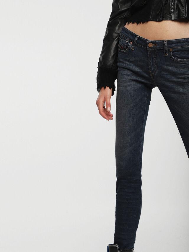 Diesel - Gracey 085AE, Bleu Foncé - Jeans - Image 3