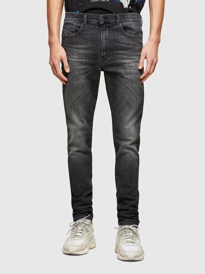 Diesel - D-Reeft JoggJeans® 009SU, Noir/Gris foncé - Jeans - Image 1