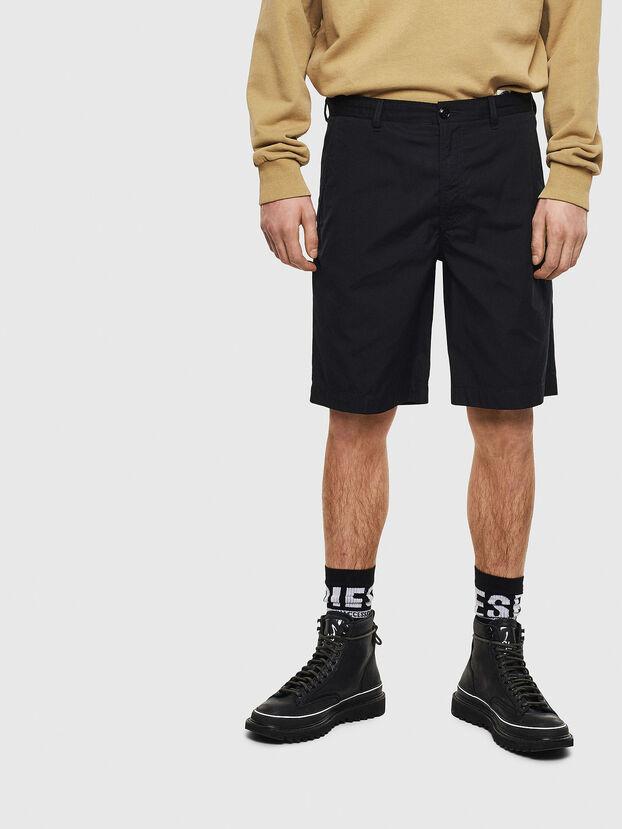 P-MATTHEW, Noir - Shorts