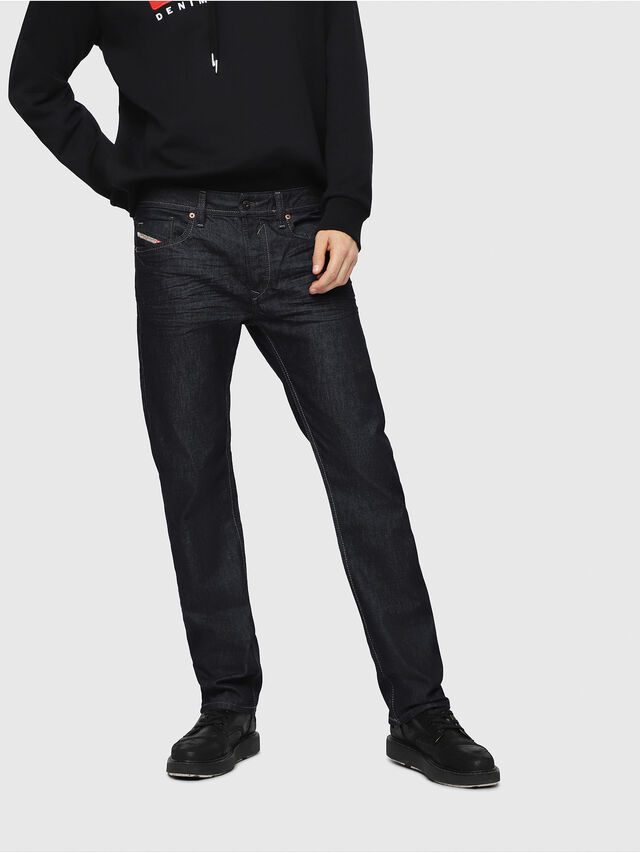 Diesel - Waykee 0088Z, Bleu Foncé - Jeans - Image 1