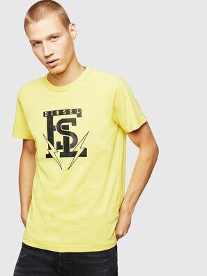 T-DIEGO-B14, Jaune - T-Shirts