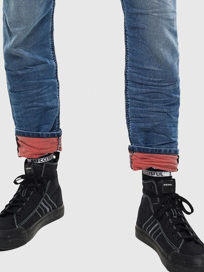 Diesel - Krooley JoggJeans 069MA, Bleu moyen - Jeans - Image 4